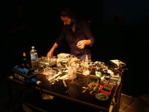 Martin Howse performance at LiWoLi
