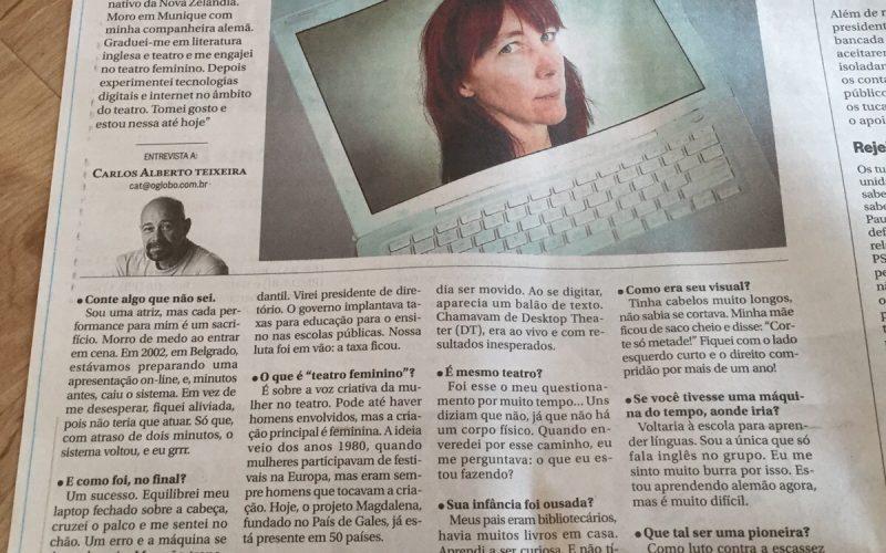 O Globo page 2 girl
