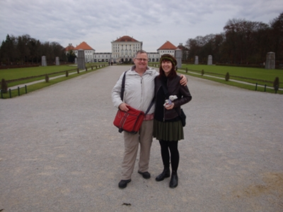 At Nymphenburg with Barry