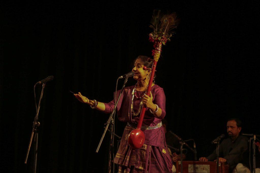 Sima Gosh. Photo: Tantidhatri Festival.