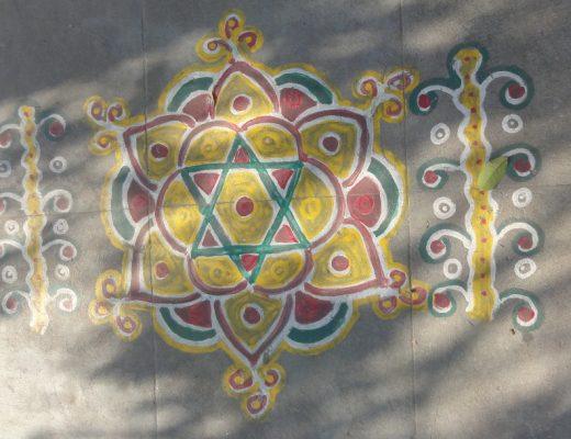 Kolam, India