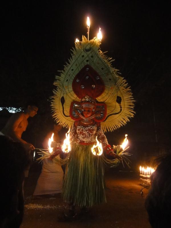 Theyyam ritual theatre