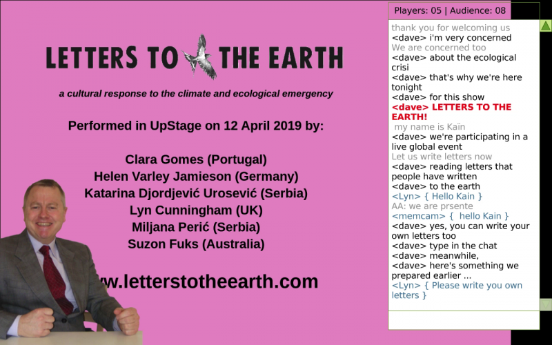 Letters the the Earth