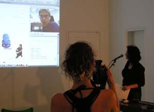 Studio xx presentation with Adriene Jenik online