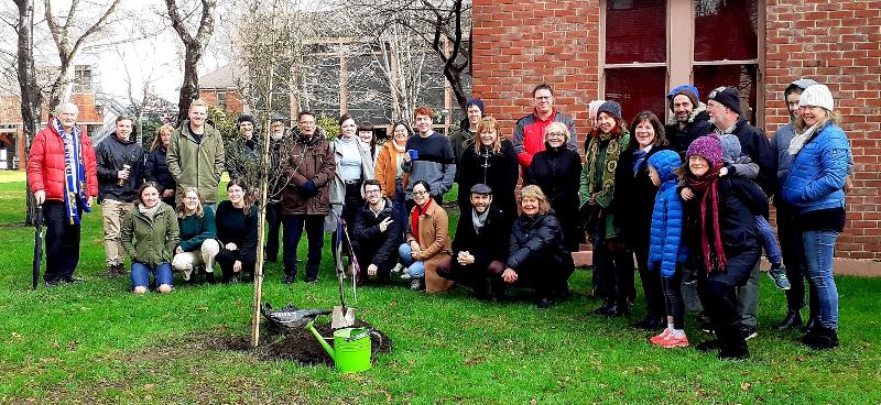 OUSA tree planting